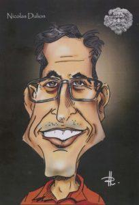 Nicolas DULION : Portrait caricature