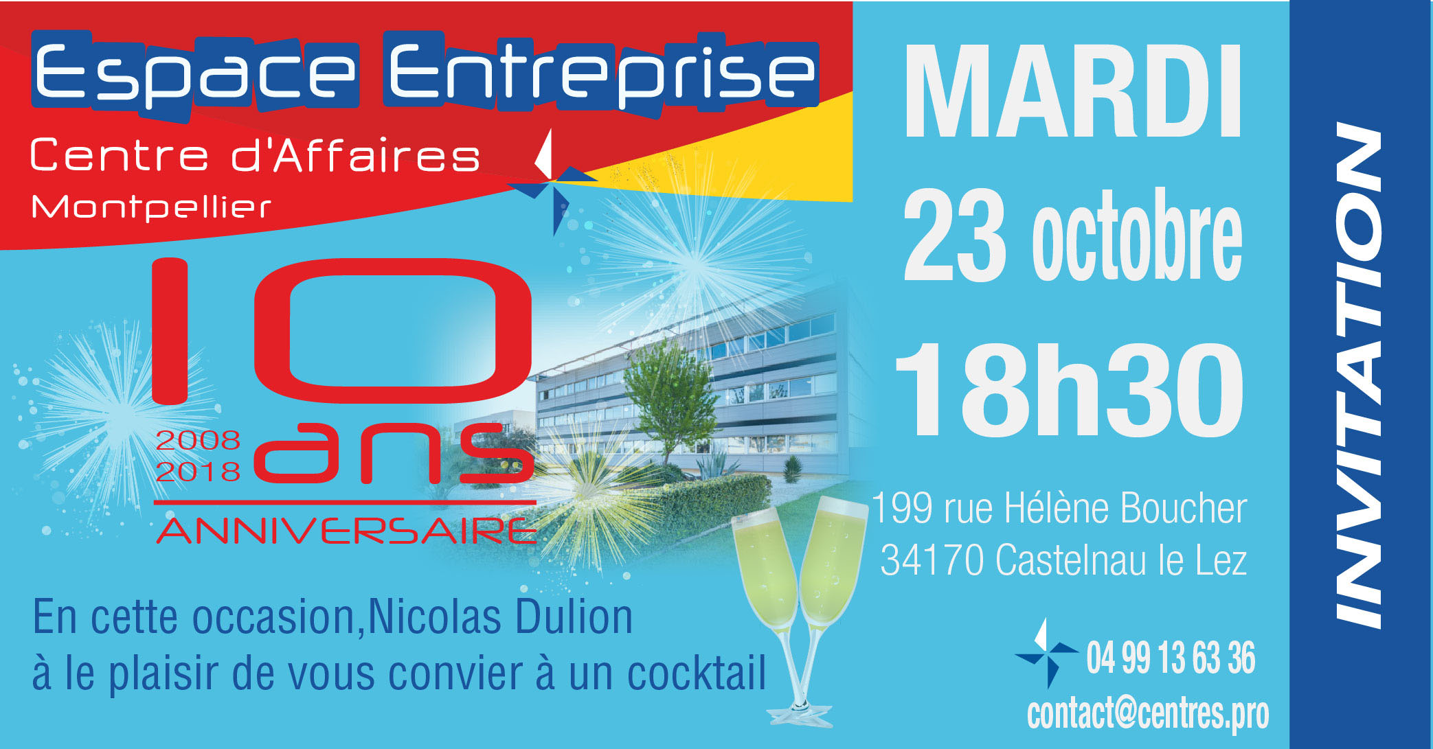 10 ans Espace Entreprise