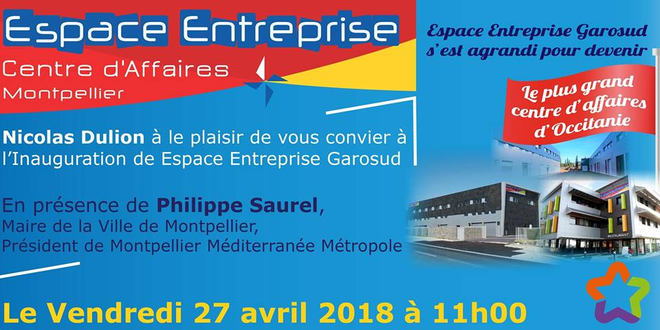 Nicolas Dulion Espace Entreprise inauguration